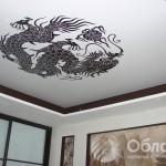арт-печать на натяжной стене