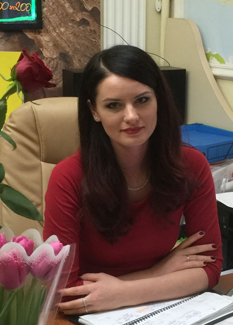 Менеджер компании Юлия Максимова